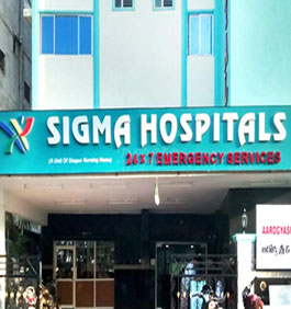 image shoing that our experst have work experience in sigma multispeciality hospital